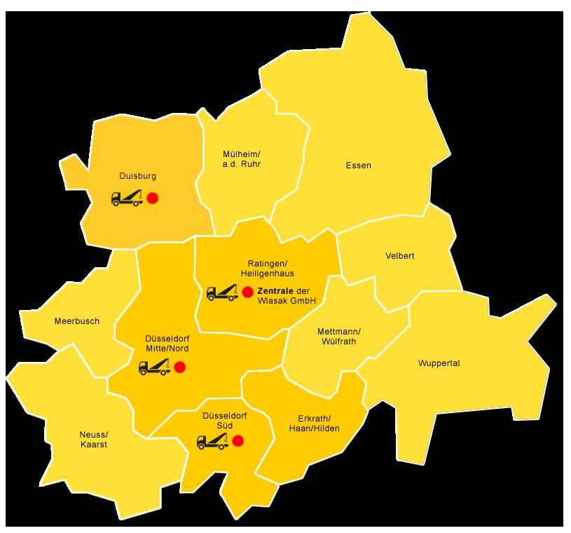 Standorte Wlasak